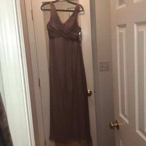 BHLDN bridesmaid dress in Mauve